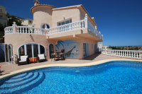 Rent luxurious villa with breathtaking sea-view Villa Gaviota - Moraira