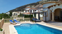 comfortable holiday villa Spain with pool Moraira Benitachell Vamos   - Benitachell
