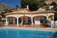 Rent luxurious villa in Spain Costa Blanca Altea Hills sea view Aleya - Altea